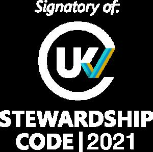 Signatory of UK Stewardship Code 2021